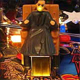 Addams Family Pinball Electric Chair Kickout Lights