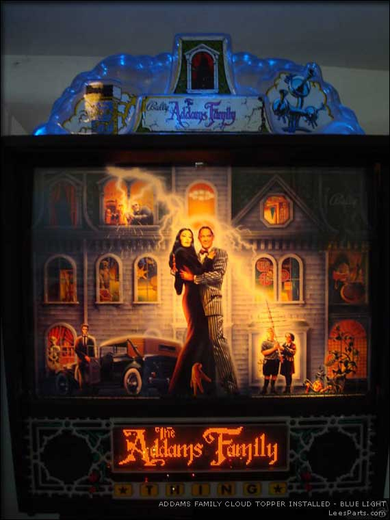 Deluxe Cloud Topper Light for Addams Family Pinball Machine