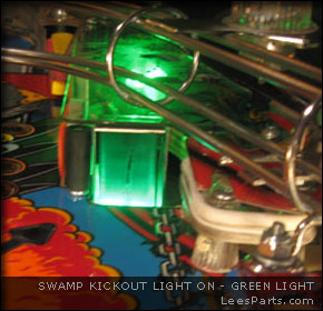 Swamp Light for Addams Family Pinball Machine